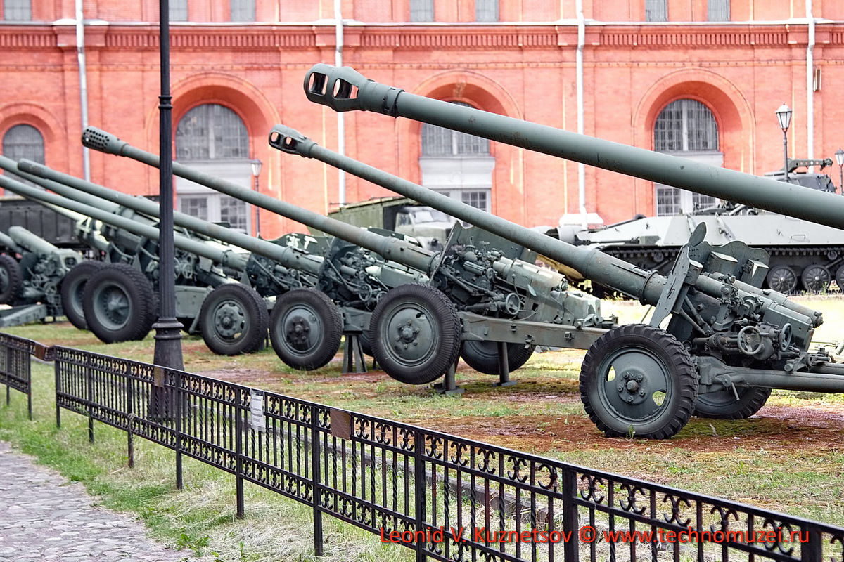 Послевоенная артиллерия в Артиллерийском музее