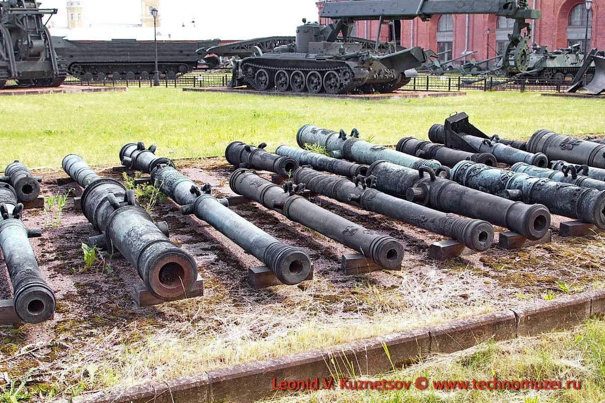 Гладкоствольные пушки в Артиллерийском музее