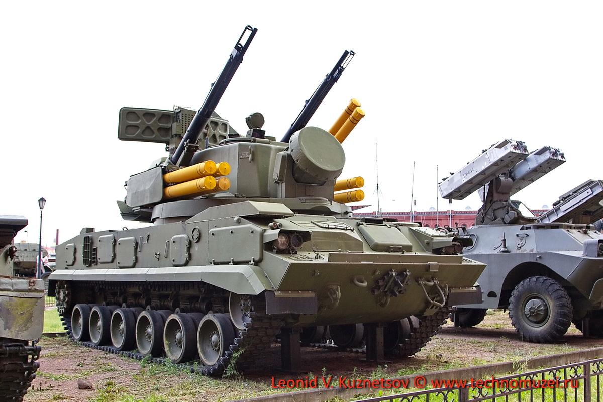 Зенитные ракетные комплексы в Артиллерийском музее
