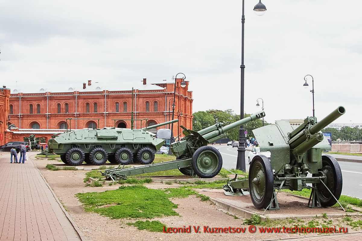Музей артиллерии набережная