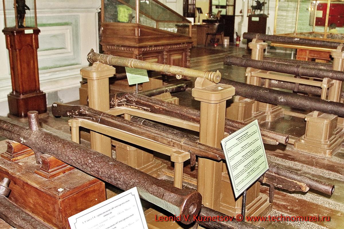 Русские крепостные пищали в Артиллерийском музее