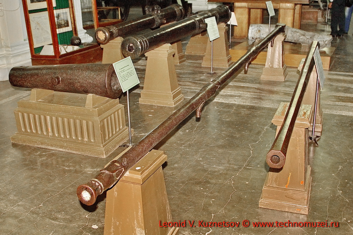Пищаль Три Аспида в Артиллерийском музее
