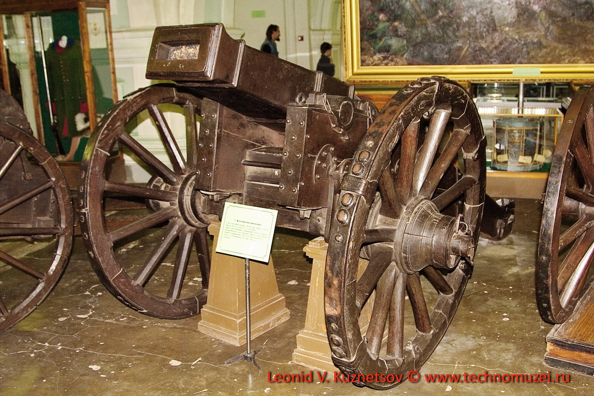 Опытная пушка для стрельбы тремя ядрами в Артиллерийском музее