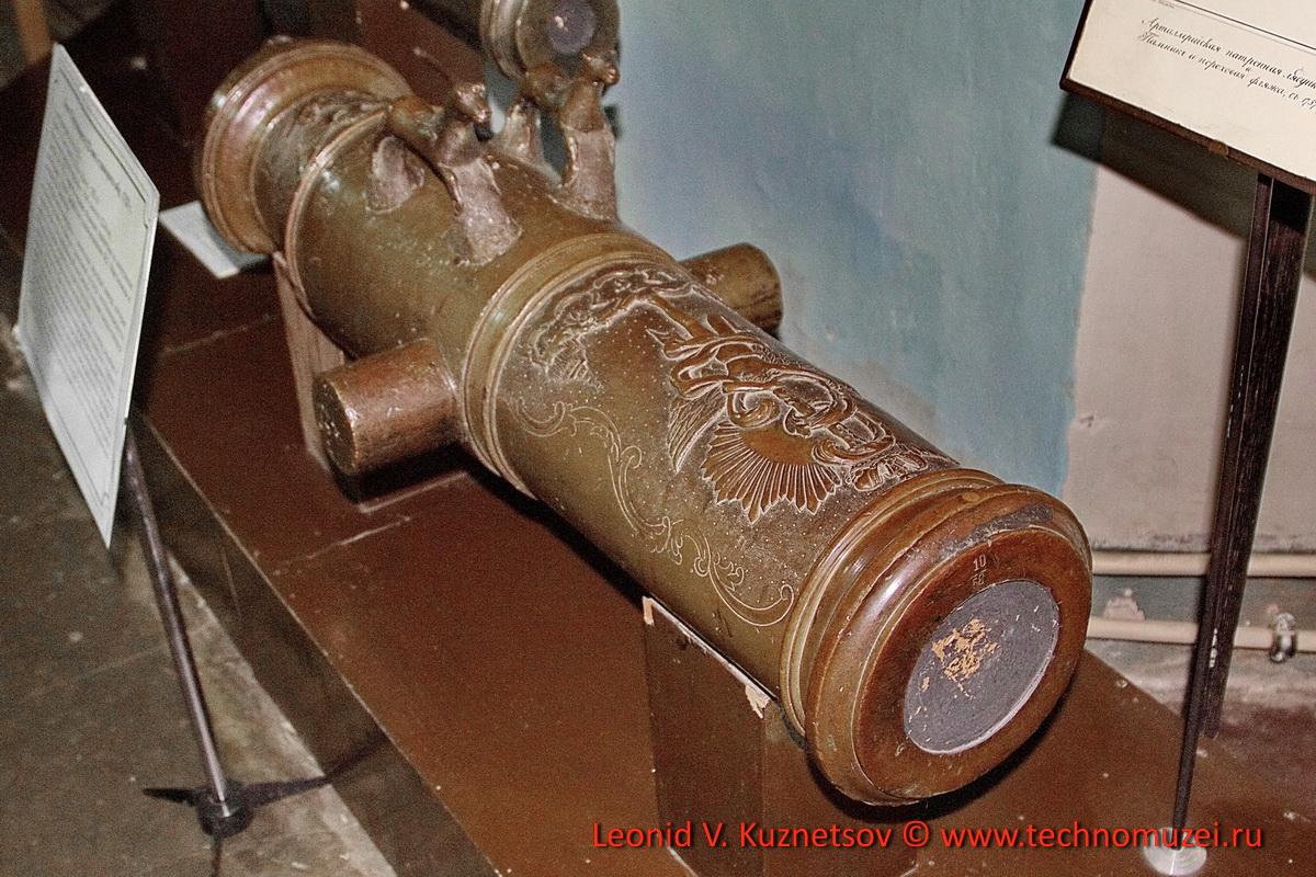 Первый образец пушки Единорог в Артиллерийском музее