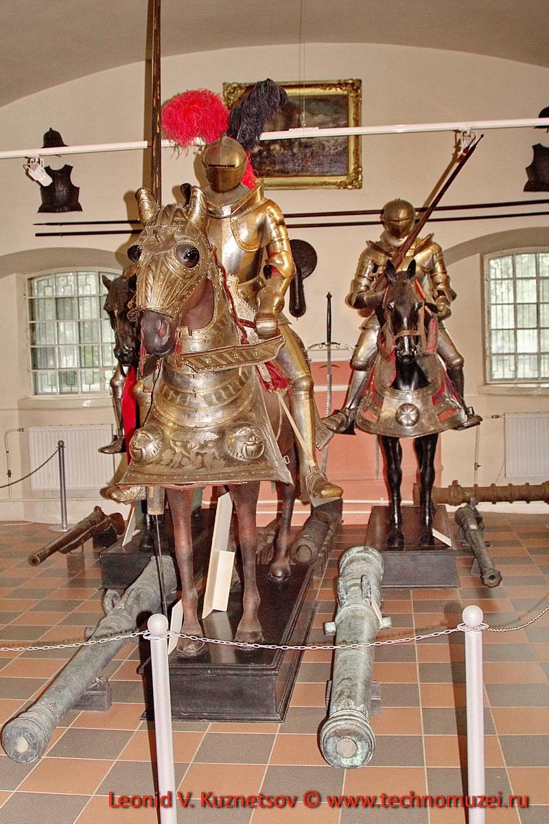 Рыцарские доспехи в Артиллерийском музее