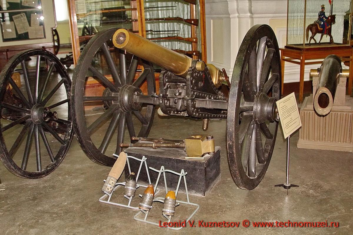 87-мм нарезная пушка Н.В.Маиевского в Артиллерийском музее