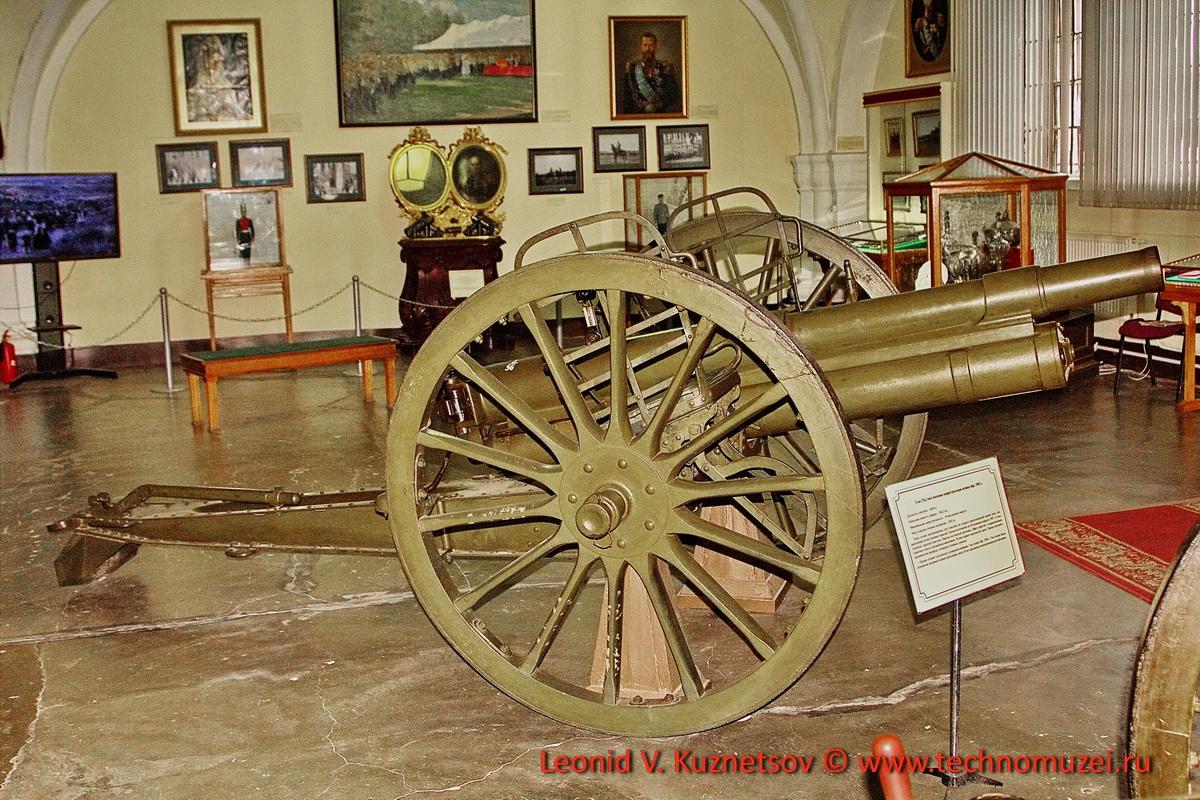 Пушка трехдюймовка образца 1902 года в Артиллерийском музее