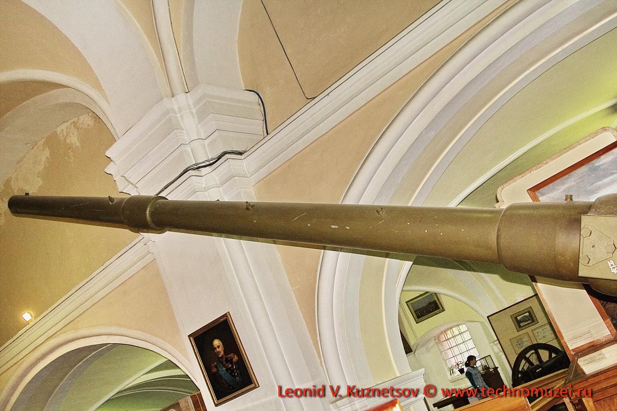 Опытная 76-мм пушка сверхдальней стрельбы 1920 года в Артиллерийском музее