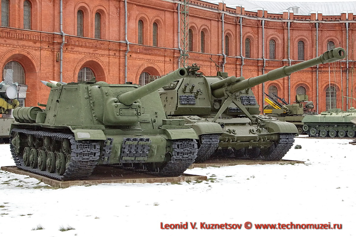 Самоходная артиллерия в Артиллерийском музее