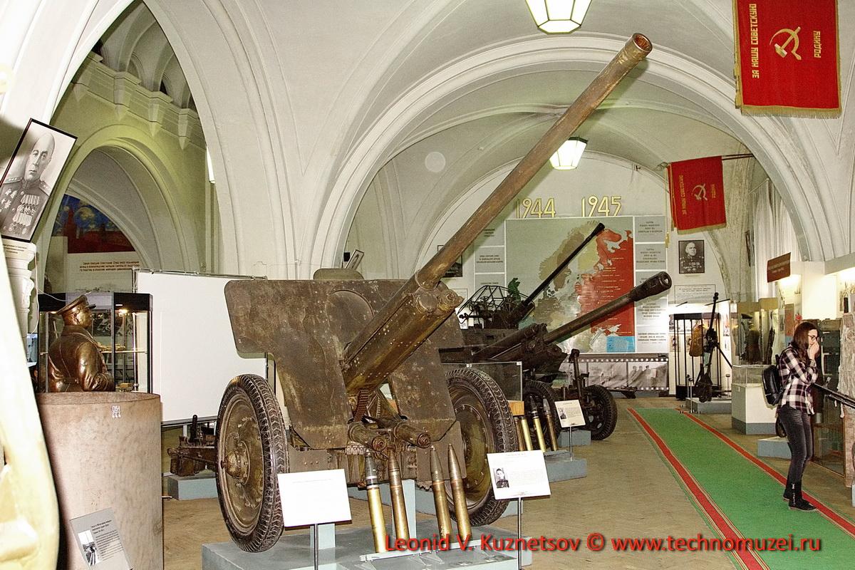 76-мм пушка образца 1936 года №118 старшего сержанта Полякова в Артиллерийском музее