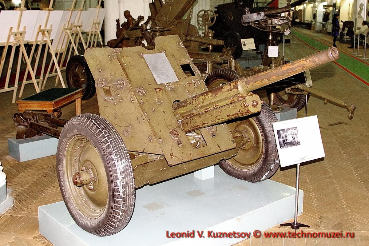 45-мм противотанковая пушка образца 1937 года №819 гвардии старшего сержанта Осипова в Артиллерийском музее