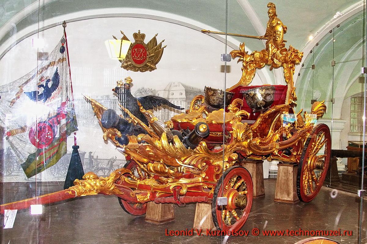Парадная литавренная колесница в Артиллерийском музее
