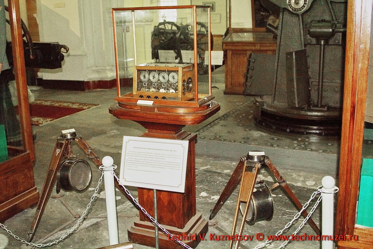 Первая в мире звукометрическая станция Н.А.Бенуа в Артиллерийском музее