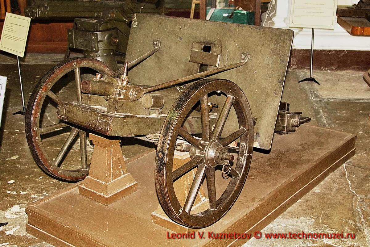 Траншейная пушка системы М.Ф.Розенберга образца 1915 года в Артиллерийском музее
