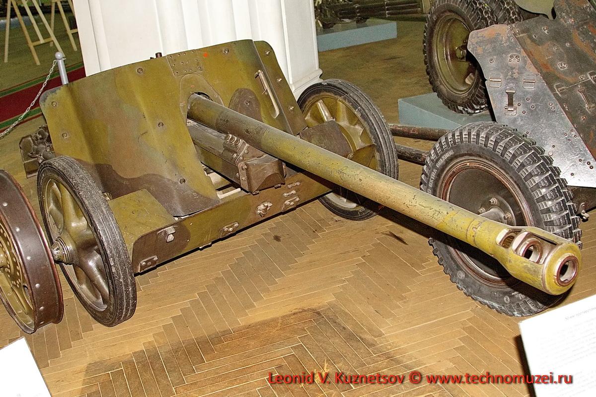 Немецкая 50-мм противотанковая пушка PAK-38 в Артиллерийском музее