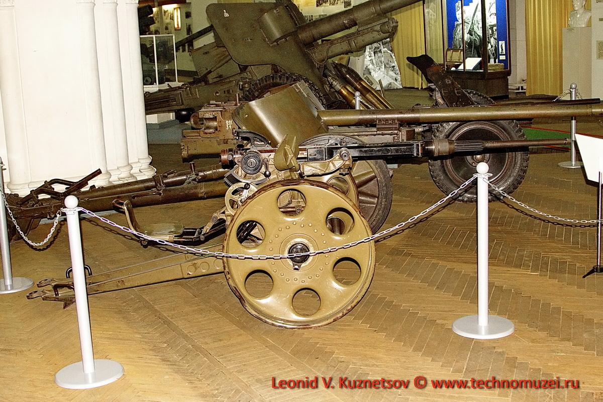 Швейцарская 20-мм зенитная пушка Oerlikon в Артиллерийском музее