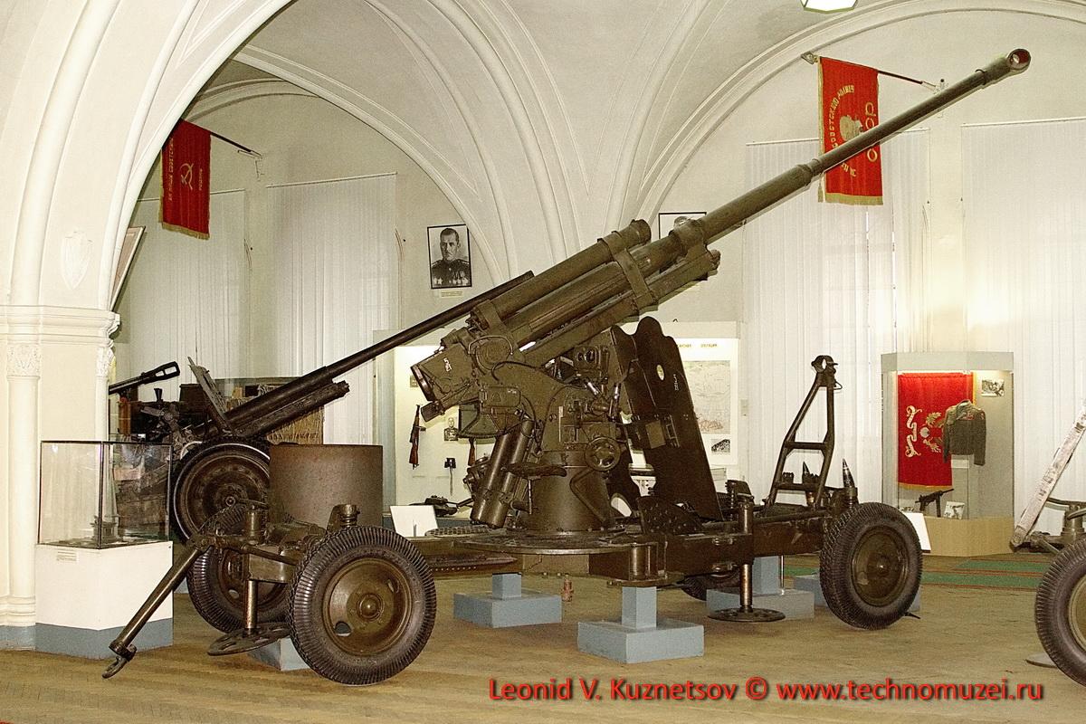 37-мм зенитная пушка образца 1939 года №909 старшего сержанта Шалова в Артиллерийском музее