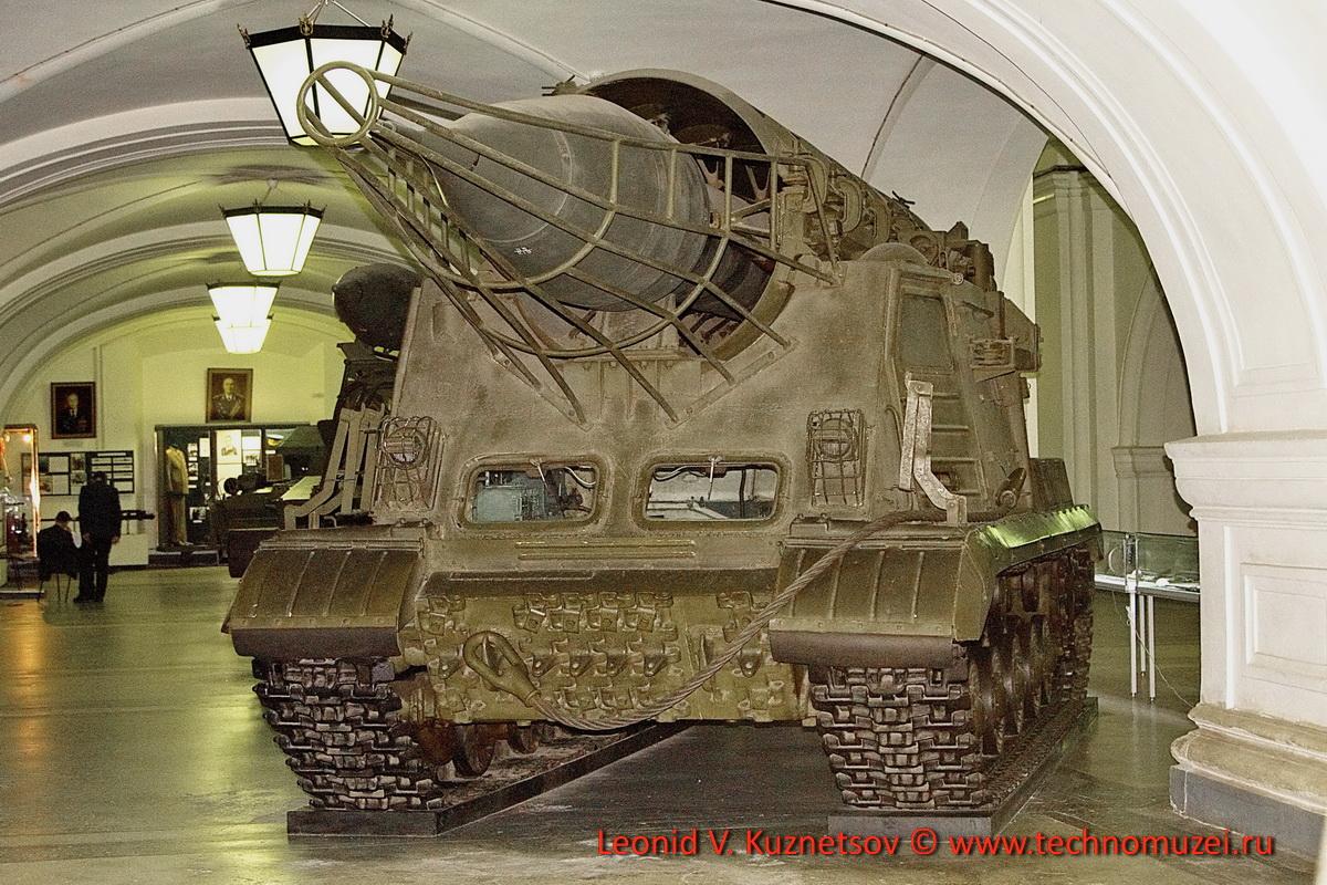 Пусковая установка 2П4 с ракетой ЗР2 комплекса 2К4 Филин в Артиллерийском музее