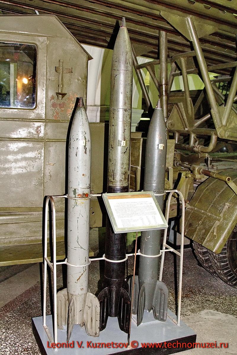 Снаряды для БМ-13 в Артиллерийском музее