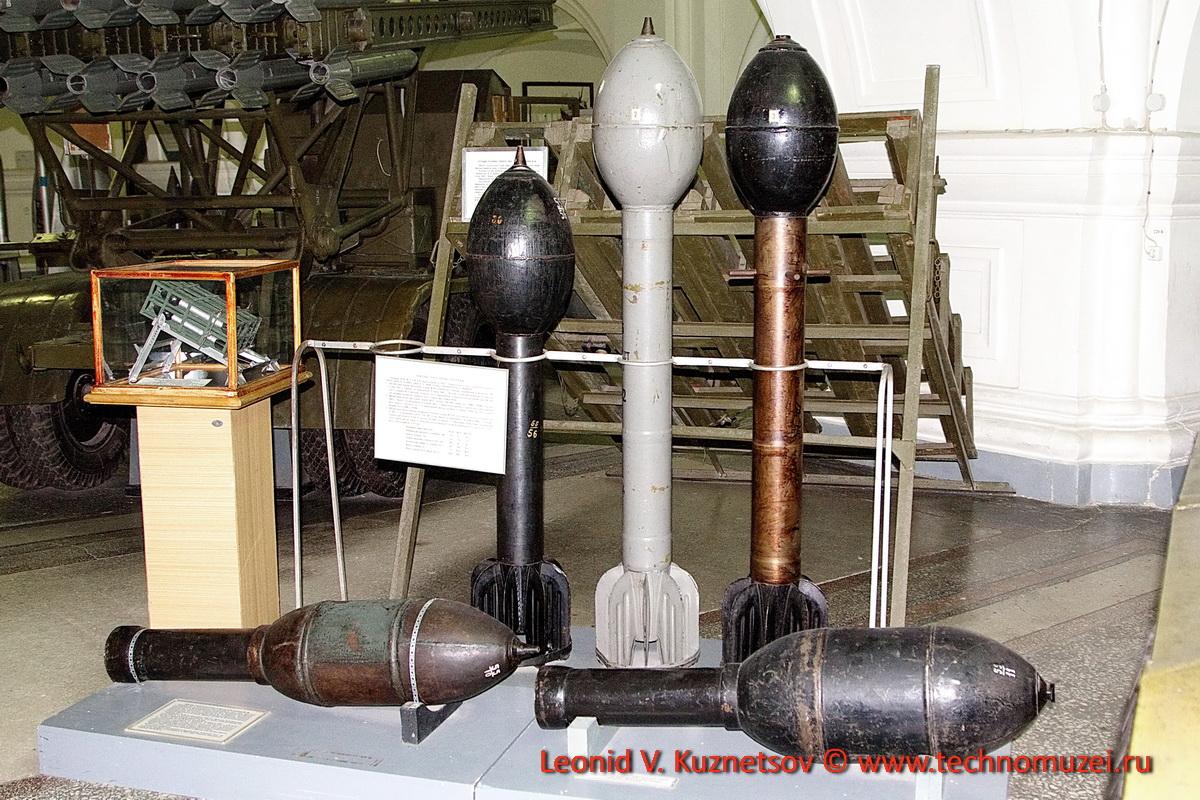 Реактивные снаряды Великой Отечественной войны в Артиллерийском музее