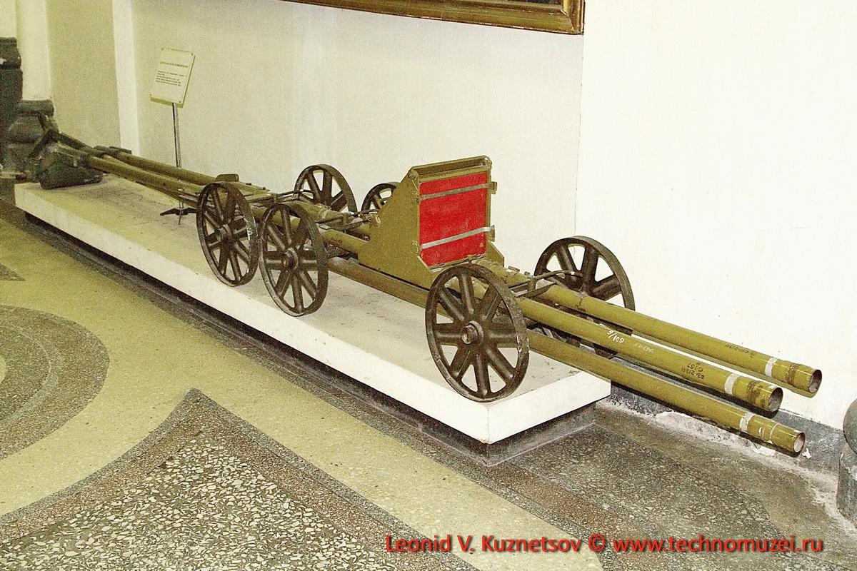 Удлиненный заряд разминирования в Артиллерийском музее