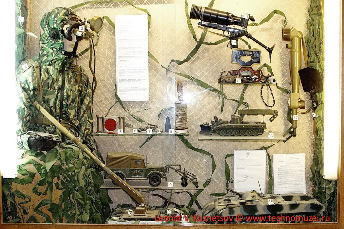 Средства инженерной разведки и маскировки в Артиллерийском музее