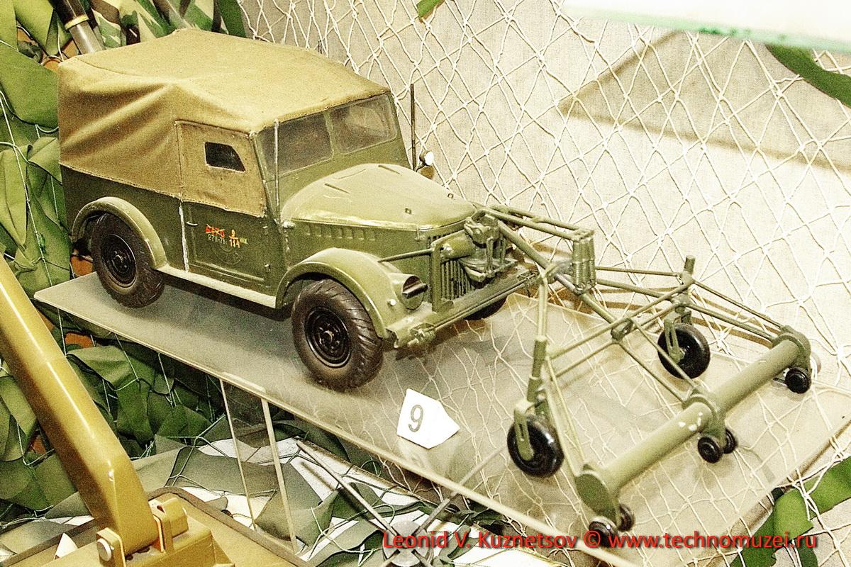 Модель машины разминирования ДИМ в Артиллерийском музее