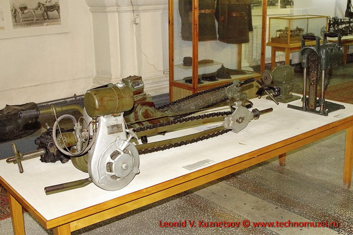 Ручной электроинструмент инженерных войск в Артиллерийском музее