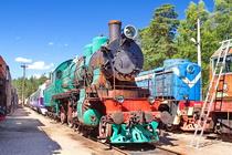 Музей техники железнодорожного транспорта в Лебяжьем