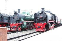 Музей техники Российских железных дорог у Рижского вокзала