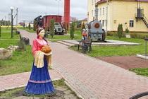 Музей техники Аллея железнодорожников в Венёве