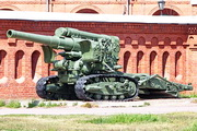 БС-3 гаубица пушка памятник на Кронверкской набережной