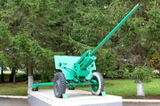 ЗиС-2 пушка памятник в пгт Чернь