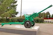 ЗиС-3 пушка памятник в пгт Чернь
