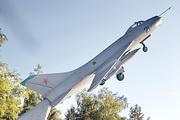 памятник самолету Су-7 на Щелковском шоссе