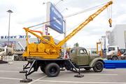 Памятник автокрану АК-75 в Клинцах
