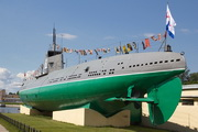 """памятник кораблю подводная лодка-музей Д-2 """"Народоволец"""""""