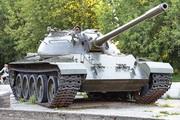 танк Т-55 в сквере Победы в Кинешме