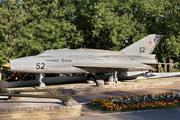 памятник самолету МиГ-21 в Кинешме