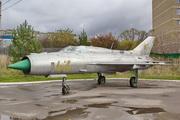 памятник самолету МиГ-21 в Костроме