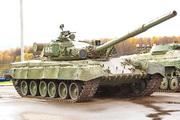 танк Т-80 в парке Победы в Костроме