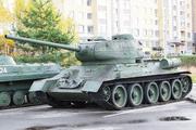 танк Т-34-85 в парке Победы г. Кострома