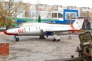 памятник самолету Aero L-29 Дельфин в Костроме