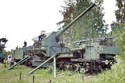 ТМ-1-180 железнодорожная пушка памятник в форте Красная Горка