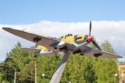 памятник самолету Ил-2 в Лебяжьем
