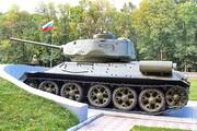 Мемориал танк Т-34-85 на трассе М-2