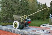 ЗиС-2 пушка памятник в Малоархангельске