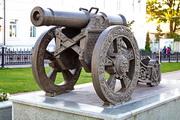 трофейная пушка на Мемориале 1812 года в Малоярославце