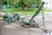 памятник миномет БМ-37 в Малоярославце