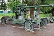 52-К зенитная пушка памятник в Малоярославце